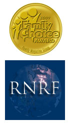 Family Choice and RNRF logos