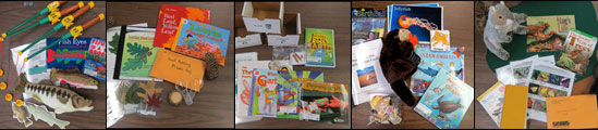 Growing Up Wild Educator Kits - Collage of contents