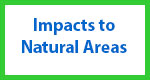 Impacts to Natural Areas Button