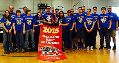Clear Spring Highschool Archery Team - 2015 MD NASP Champions