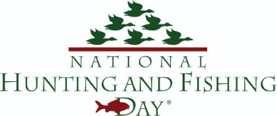 National Hunting and Fishing Day logo