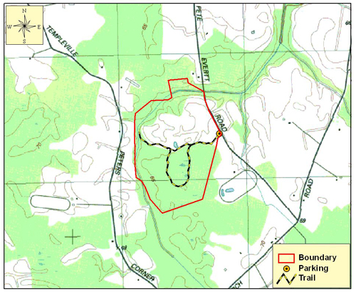 Andover Flatwoods Map