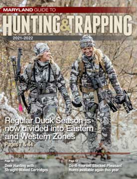 Cover of 2020-2021 Maryland Guide to Hunting & Trapping